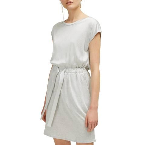 Great Plains Grey Silky Jersey Dress