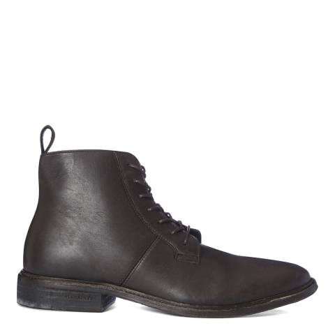 AllSaints Bitter Chocolate Leven High Formal Boots