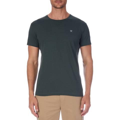 Hackett London Green Logo Cotton T-Shirt