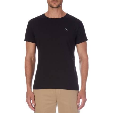 Hackett London Black Logo Cotton T-Shirt