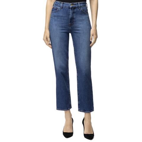 J Brand Dark Blue Jules Straight Stretch Jeans