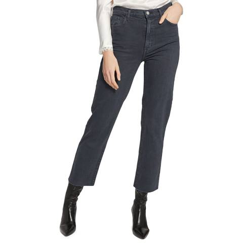 J Brand Grey Jules Straight Stretch Jeans