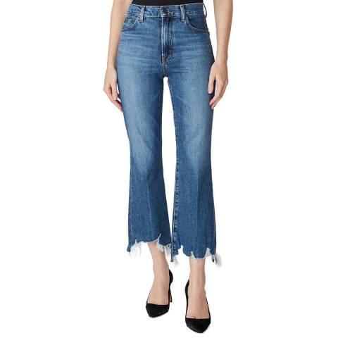 J Brand Mid Blue Julia Flared Stretch Jeans