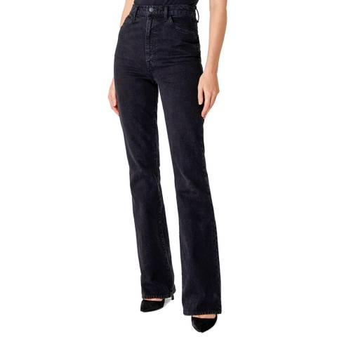 J Brand Black 1219 Runway Bootcut Stretch Jeans