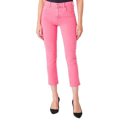 J Brand Pink Ruby Cigarette Stretch Jeans