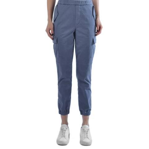 J Brand Blue Eugene Tapered Trousers