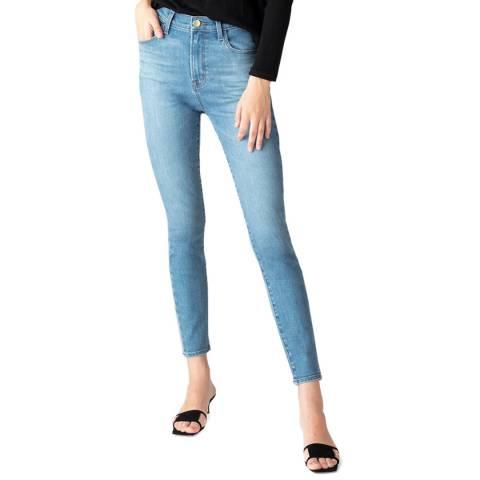 J Brand Light Blue Leenah Skinny Stretch Jeans