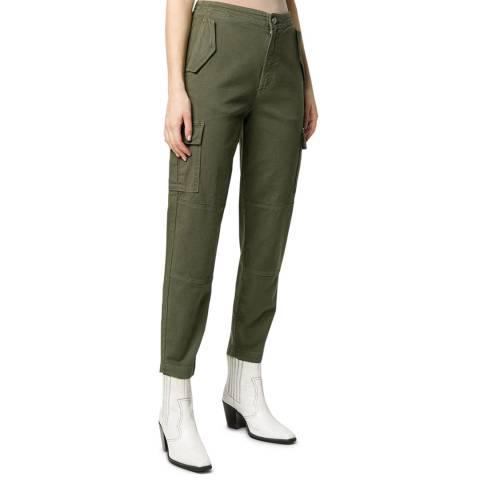 J Brand Khaki Bryar Surplus Tapered Trousers