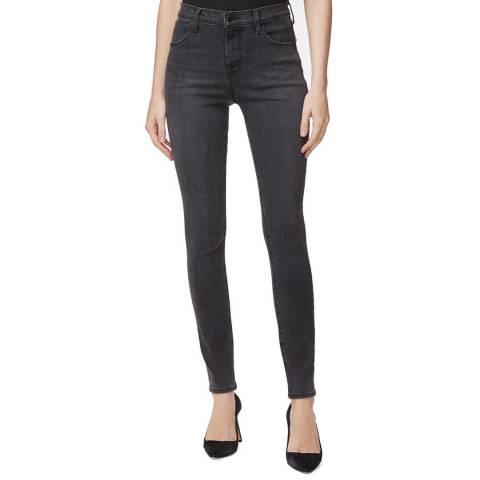 J Brand Charcoal Maria Skinny Stretch Jeans