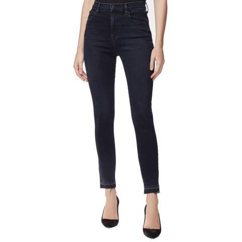 J Brand Navy Leenah Skinny Stretch Jeans