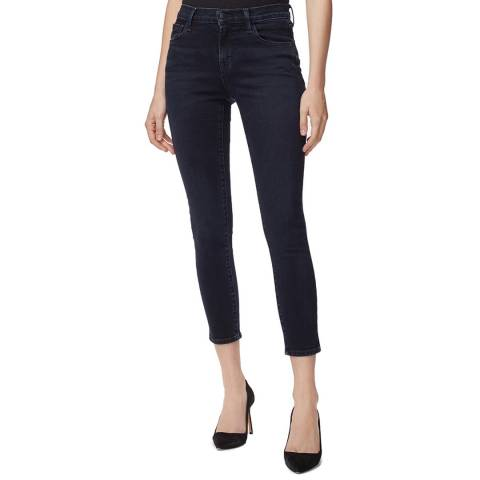 J Brand Indigo 835 Cropped Skinny Stretch Jeans