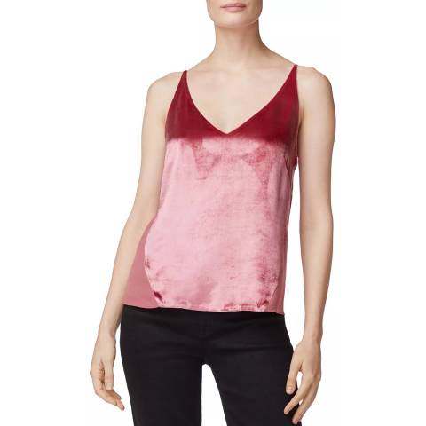 J Brand Pink Lucy Cami Top