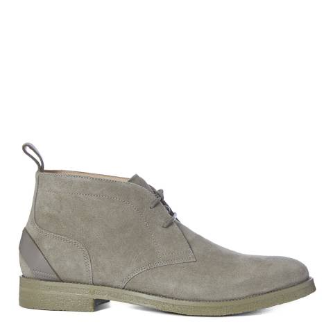 Reiss Mint Reeves Crepe Sole Suede Chukka Boots