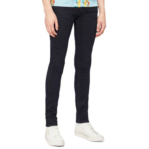 J Brand Black Mick Skinny Stretch Jeans
