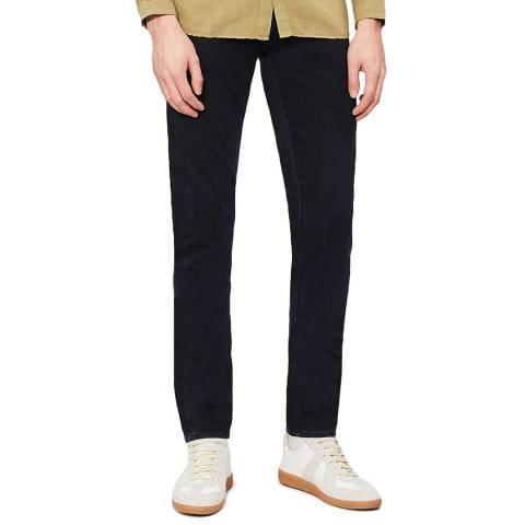 J Brand Black Tyler Tapered Stretch Jeans