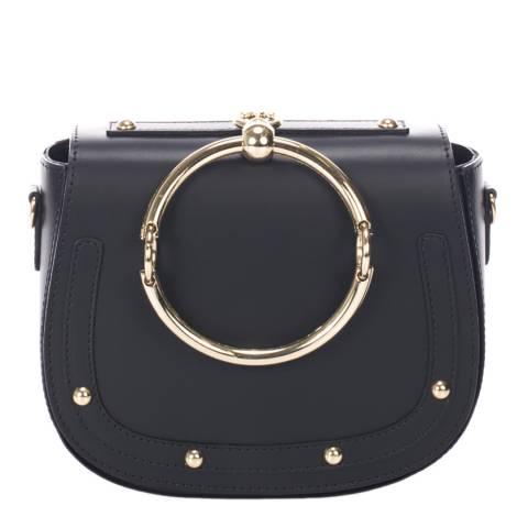 Giorgio Costa Black Leather Clutch Bag