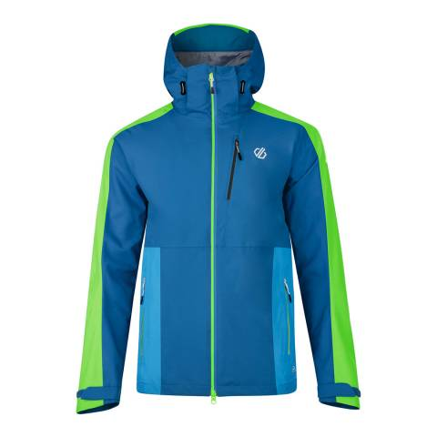 Dare2B Green/Blue Diluent Jacket