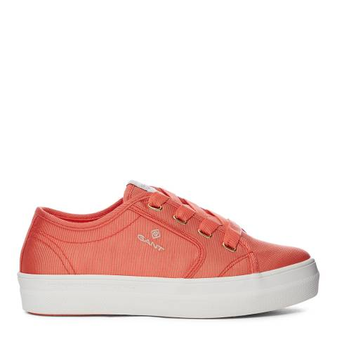 Gant yellow Clementine Leisha Low Lace Shoes sneaker