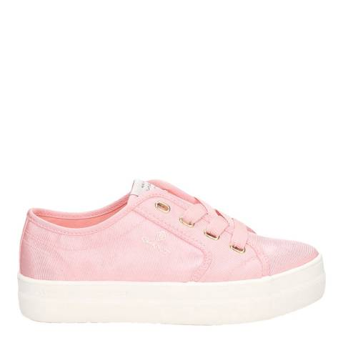 Gant Seashell Pink Leisha Low Lace Sneakers