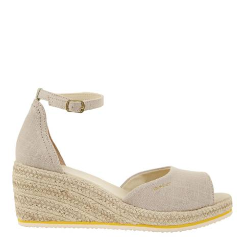 Gant Dry Sand Wedgeville Plateau Wedge Espadrilles