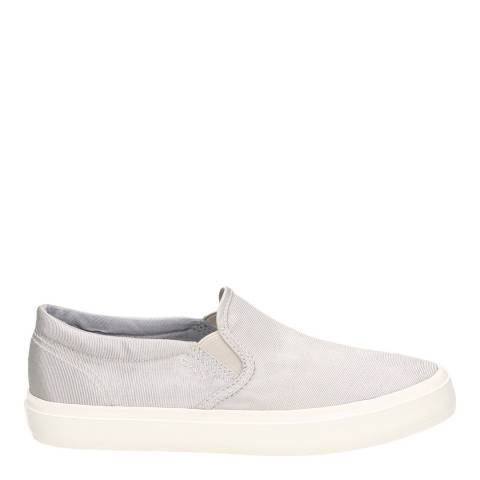 Gant Silver Grey Pinestreet Slip-on Shoes