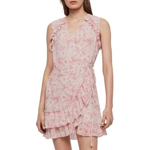 AllSaints Pink Priya Rosa Dress