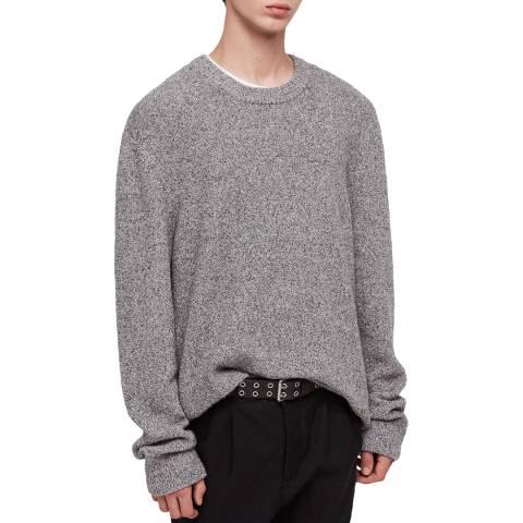 AllSaints Grey Marl Hane Jumper