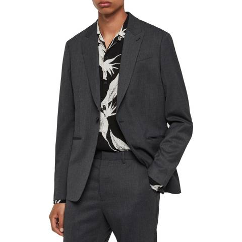 AllSaints Charcoal Hendon Blazer