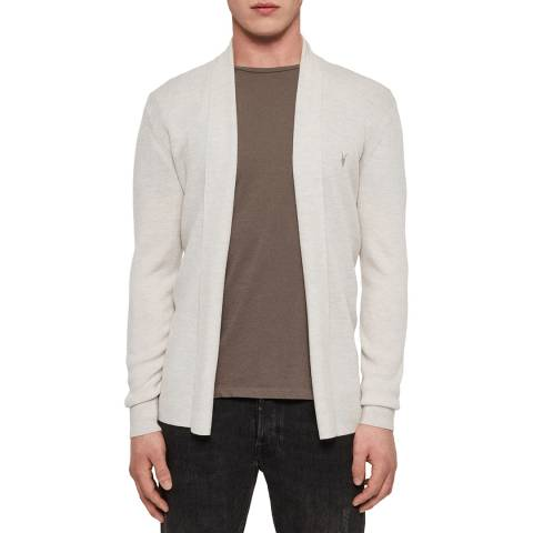AllSaints Natural Mode Wool Cardigan