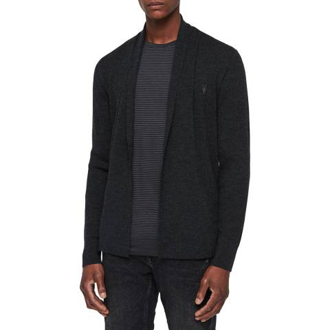 AllSaints Black  Mode Wool Cardigan