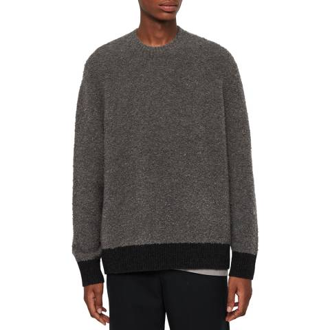 AllSaints Charcoal Tremett Jumper