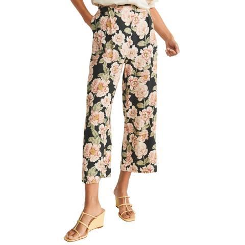 Mango Black Culottes Trousers