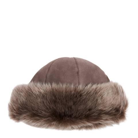 Laycuna London Luxury Nutmeg Sheepskin Classic Hat