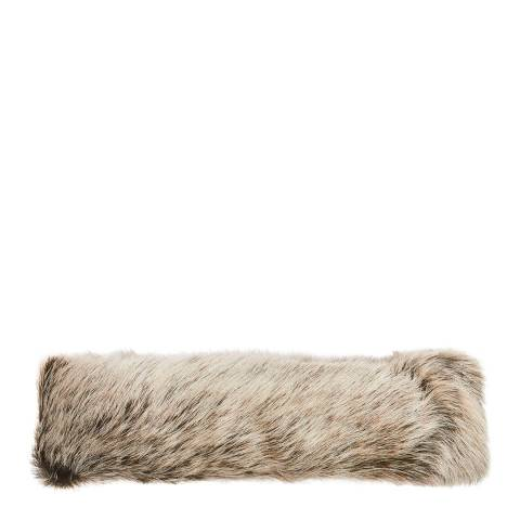 Laycuna London Luxury Light Grey Sheepskin Headband