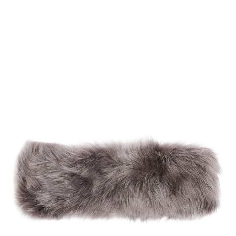 Laycuna London Luxury Grey Sheepskin Headband
