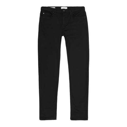 Reiss Black Spur Slim Stretch Jeans