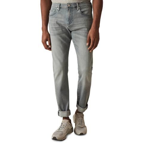 Reiss Light Blue Mason Slim Stretch Jeans