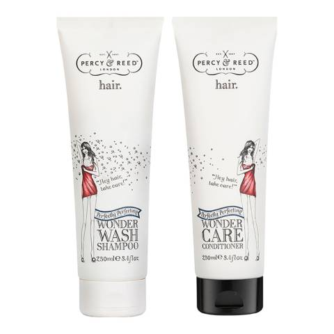 Percy & Reed Perfectly Perfecting Wonder Wash Shampoo & Conditioner
