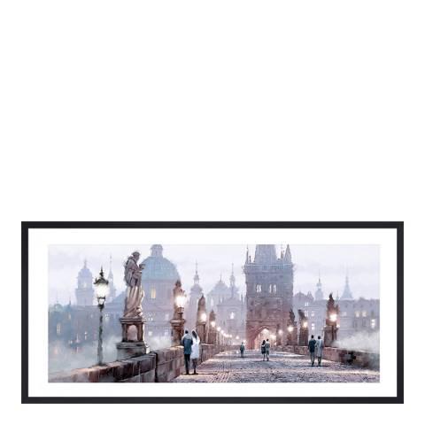 Richard Macneil Charles Bridge Framed Print, 50x100cm