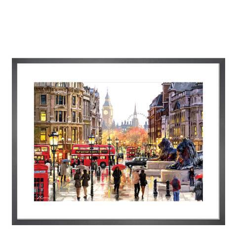 Richard Macneil London Landscape Framed Print, 60 x80cm