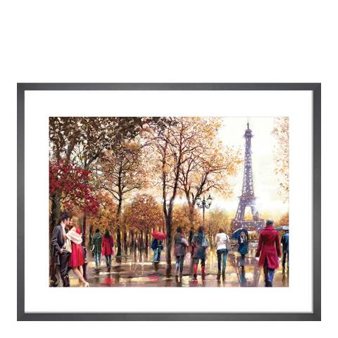 Richard Macneil Eiffel Tower Framed Print, 40x50cm