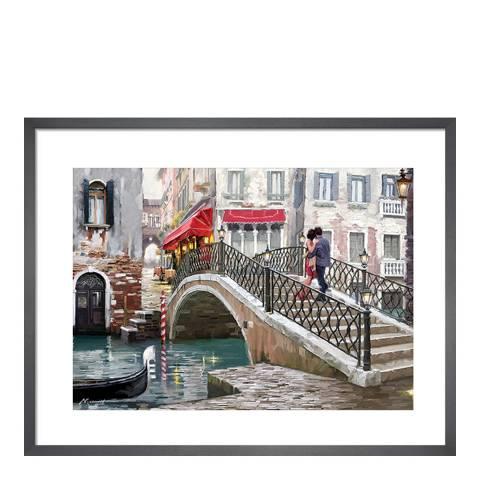 Richard Macneil Venice Bridge Framed Print, 60x80cm