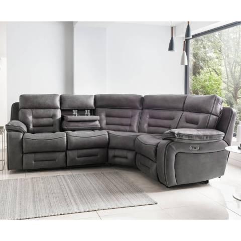 Tech Sofa Tech Sofa 2 Seater + Dropdown Table /Corner/1 Seater Unit