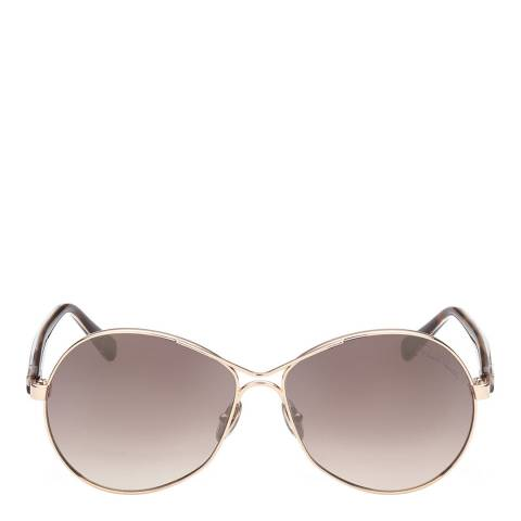 Roberto Cavalli Women's Brown/Gold Roberto Cavalli Sunglasses 60mm