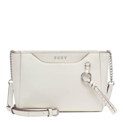 DKNY White Lola Crossbody