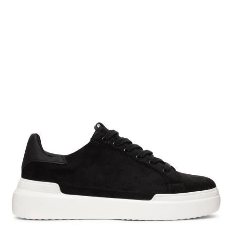 Cortica Black Podium 419 White Contrast Sole Sneakers