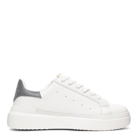 Cortica White Podium 419 Reflective Contrast Tab Sneakers