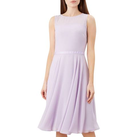 Hobbs London Lilac Abigale Dress