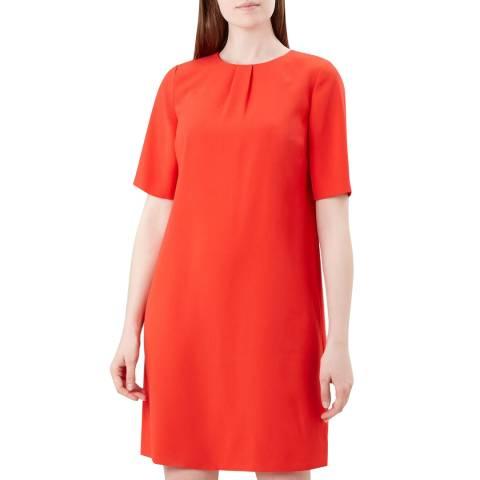 Hobbs London Orange Carla Dress