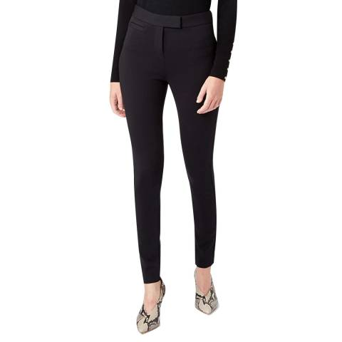 Hobbs London Black Delany Stretch Trousers